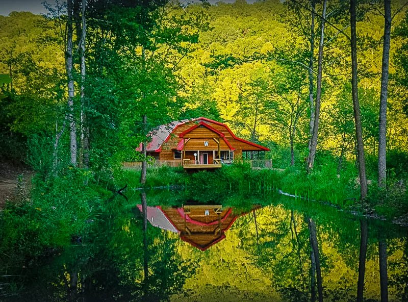 Among the best log cabin rentals in Kentucky