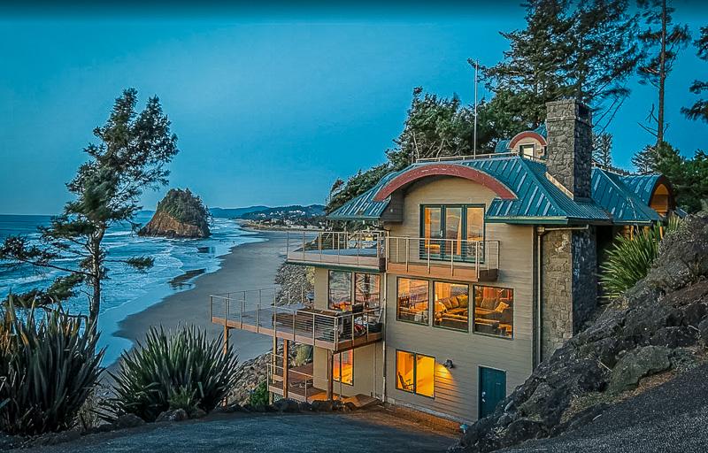 One of the best Oregon coast beach house rentals