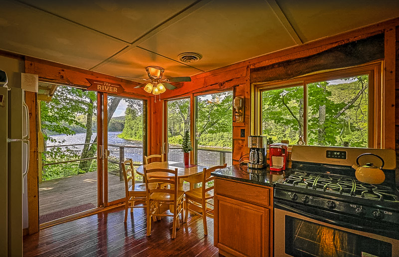 Beautiful Lake George cottage rental on VRBO and Airbnb.
