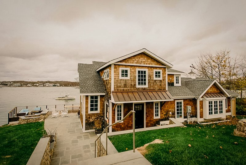 A beachfront cabin rental in Connecticut like no other