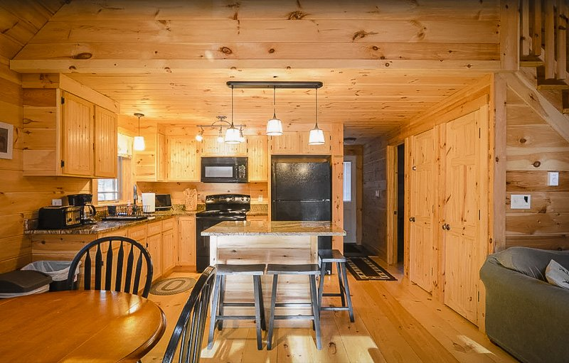Rustic kitchen and appliances