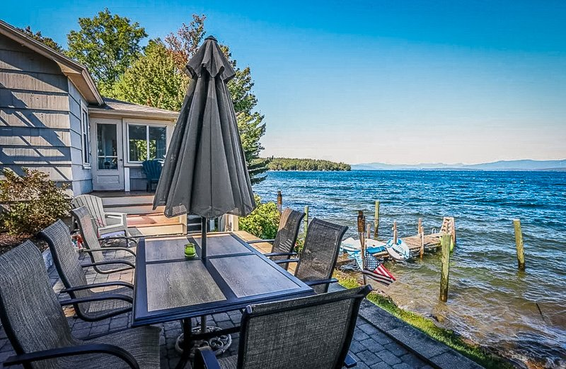 One of the best lakefront rentals on Lake Winnipesaukee