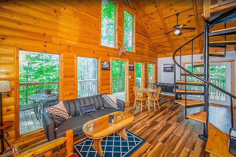 One of the top Red River Gorge cabins in KY
