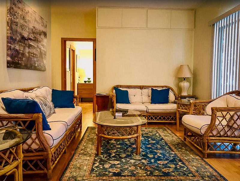 Warm and vibrant interior decor
