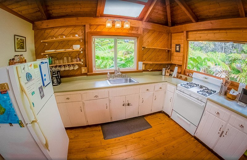 Lovely kitchen inside this HI rental