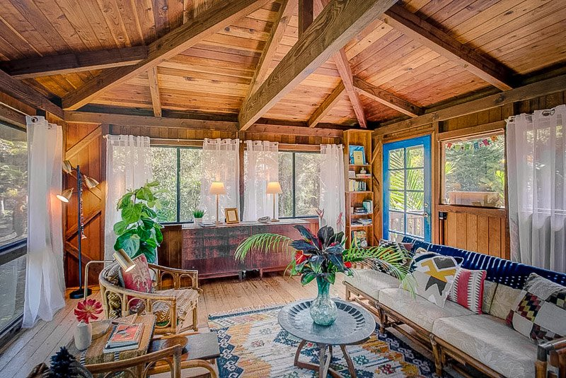 Hawaii vacation rental in the jungle