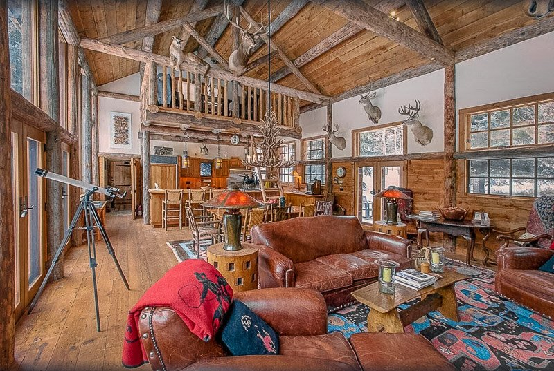 One of the most unique Montana getaway cabins.