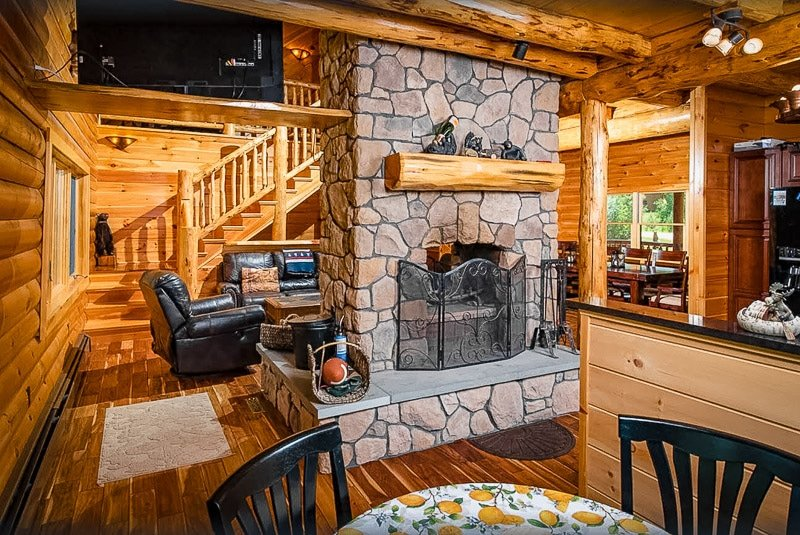 A rental cottage in New Hampshire in the White Mountains