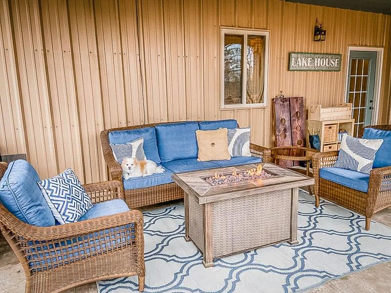 Lake house cabin decor in OK