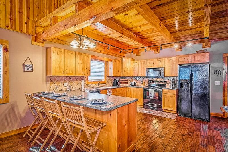 Lodge-style decor