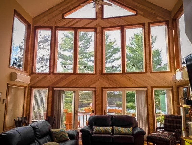 A magnificent chalet rental in Lake George New York