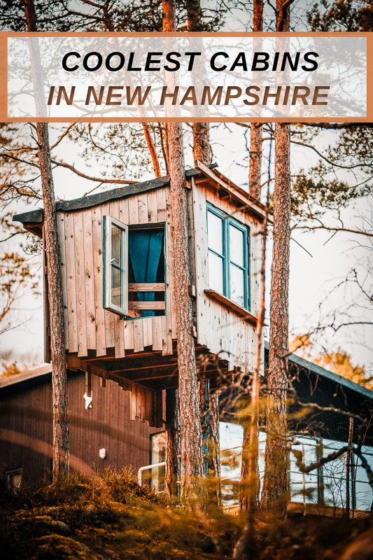 Coolest cabins for rent in New Hampshire for all travelers of New Englannd