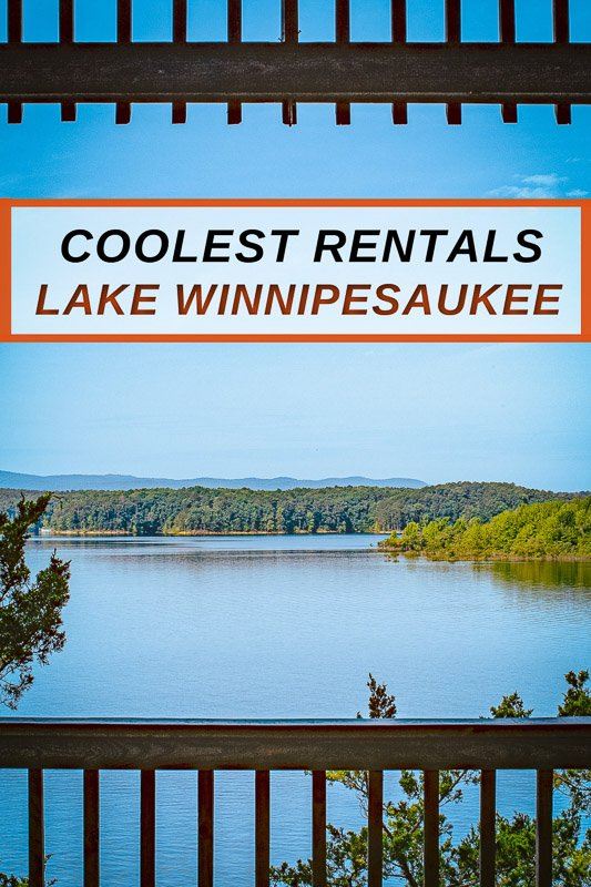 The best lake houses on Lake Winnipesaukee in NH