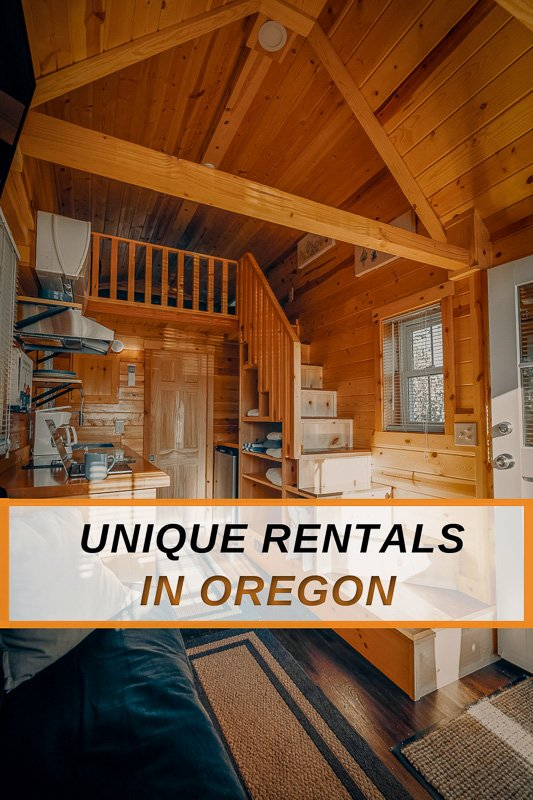 Unique house rentals in Oregon for visitors of the Pacific Northwest