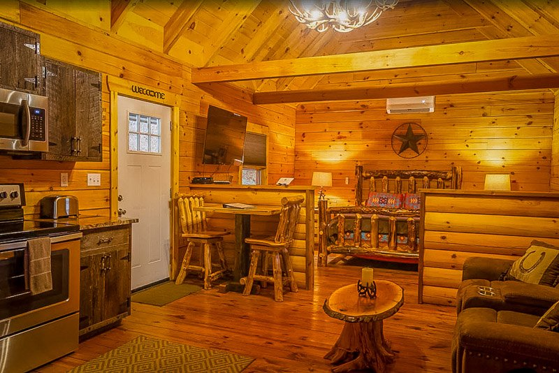 Among the coolest cabins in Logan Ohio