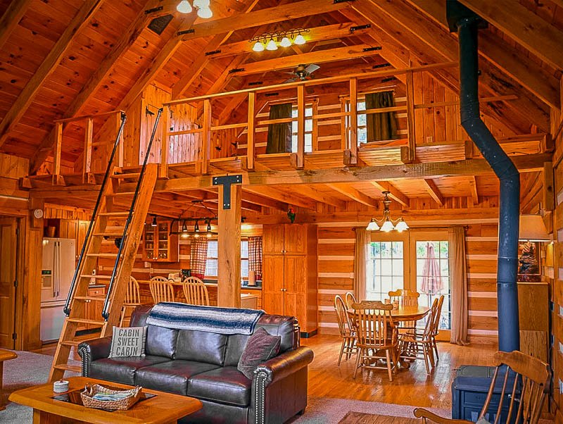 Ohio vacation rental with lots of charm and character.