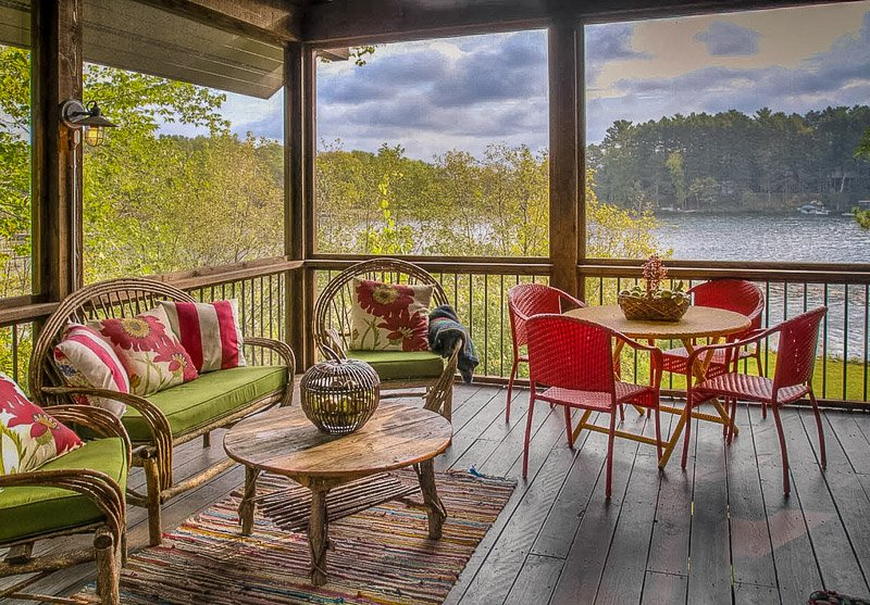 A Minnesota vacation rental with a waterfront view