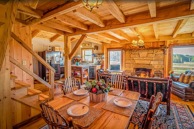 A top log cabin rental in Ohio