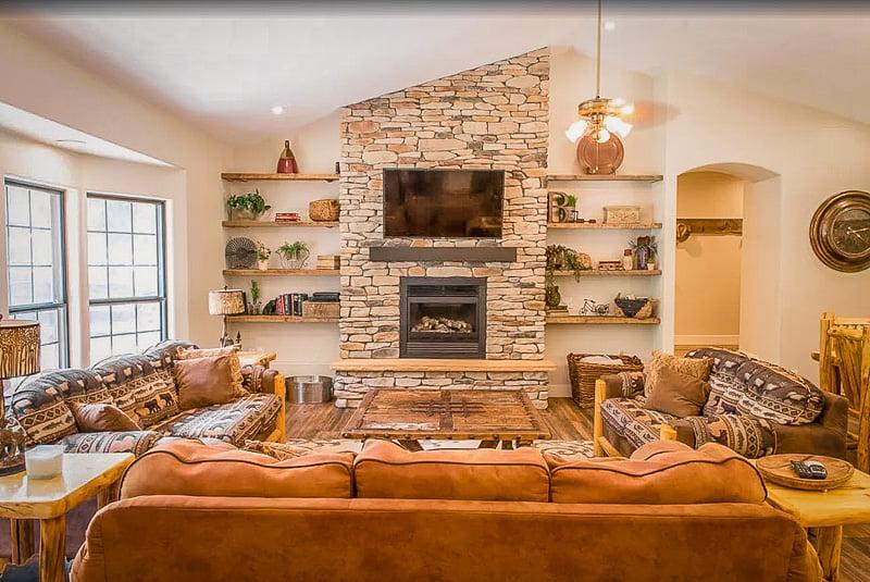 A Utah lodge rental like no other