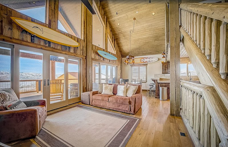 This vacation home is among the most secluded cabin rentals in Utah.