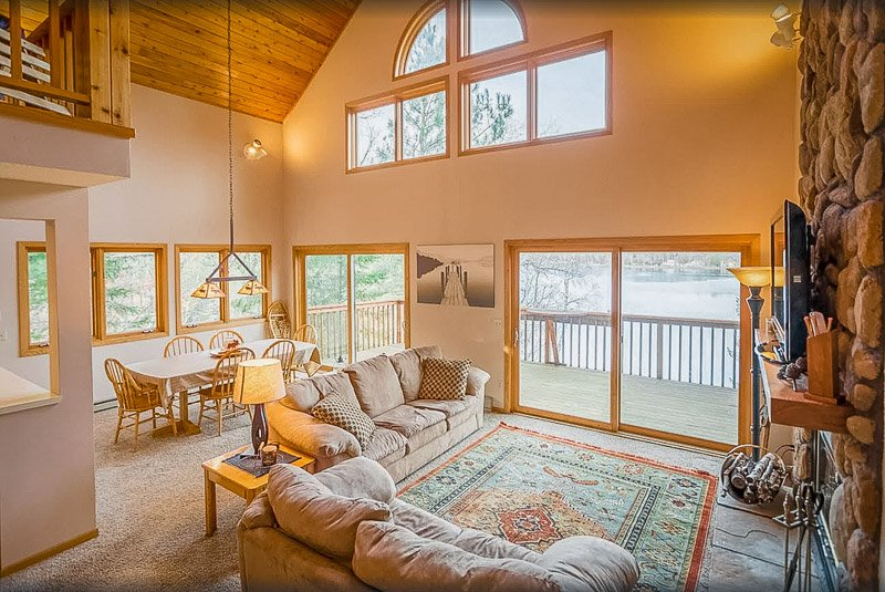 This lakefront house is among the top Northern MN cabin rentals