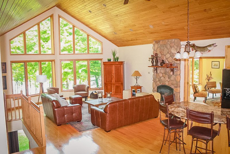 A lake cabin in MN with lots of charm and personality