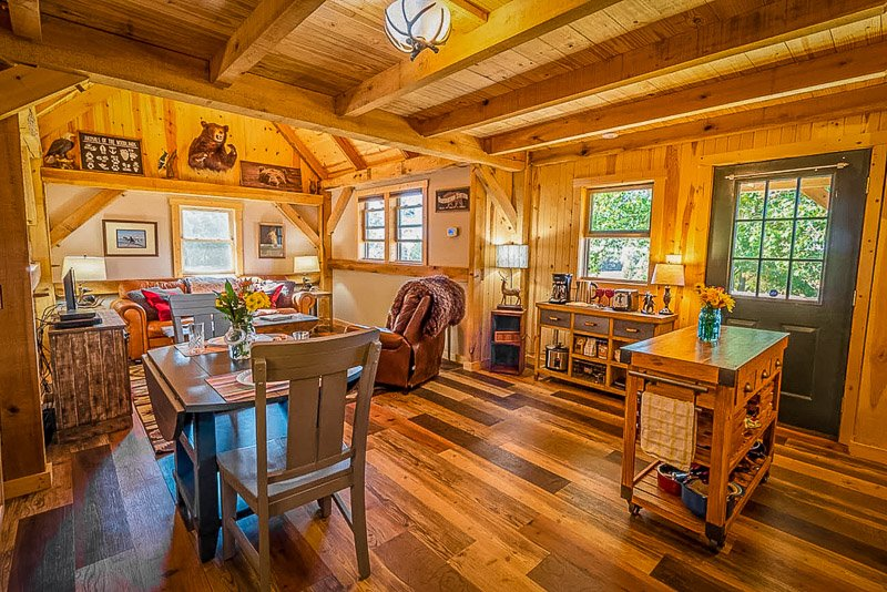 A top getaway cabin rental in OH