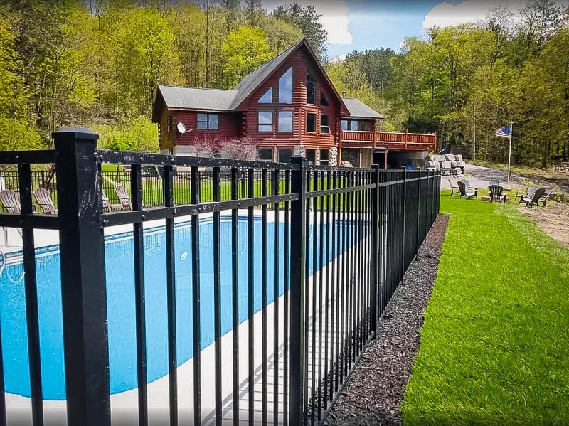This NY VRBO has its own private pool