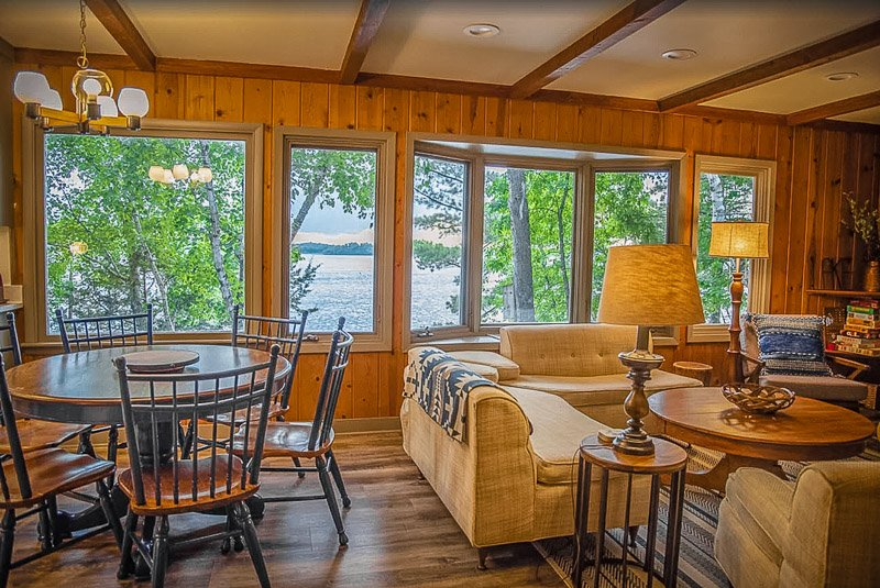 This is one of the best lake homes for rent in Minnesota, hands down