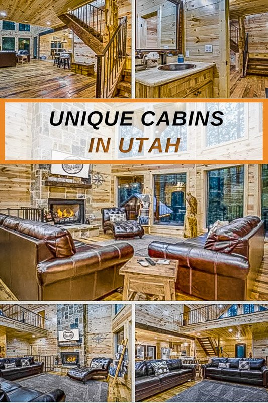 These cabin rentals in Utah will blow your mind