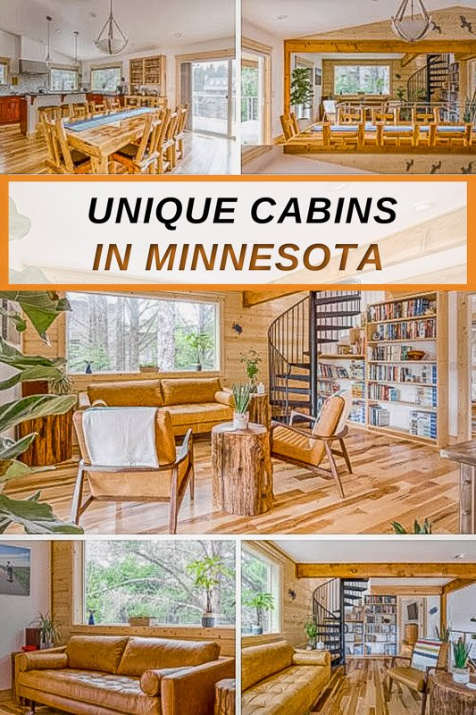 Most beautiful cabin rentals in MN for all types of travelers