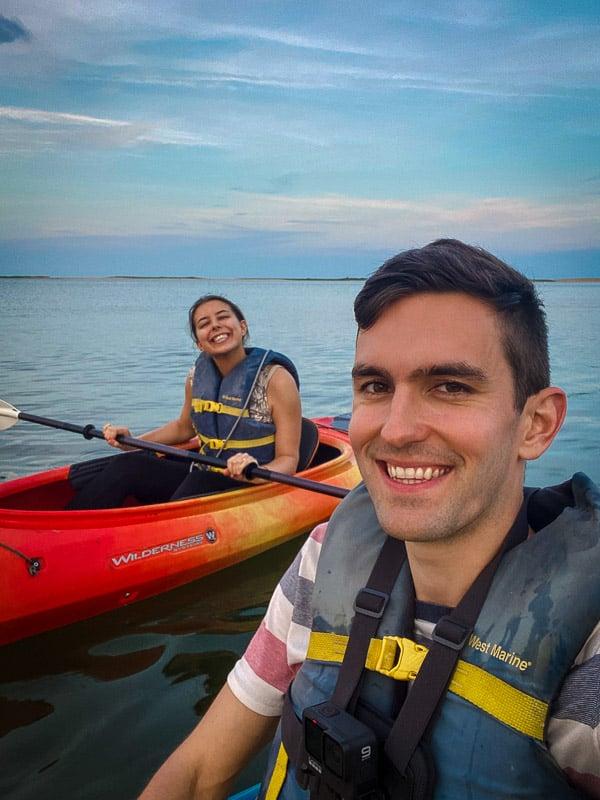 Kayaking adventures in Mashpee, MA.