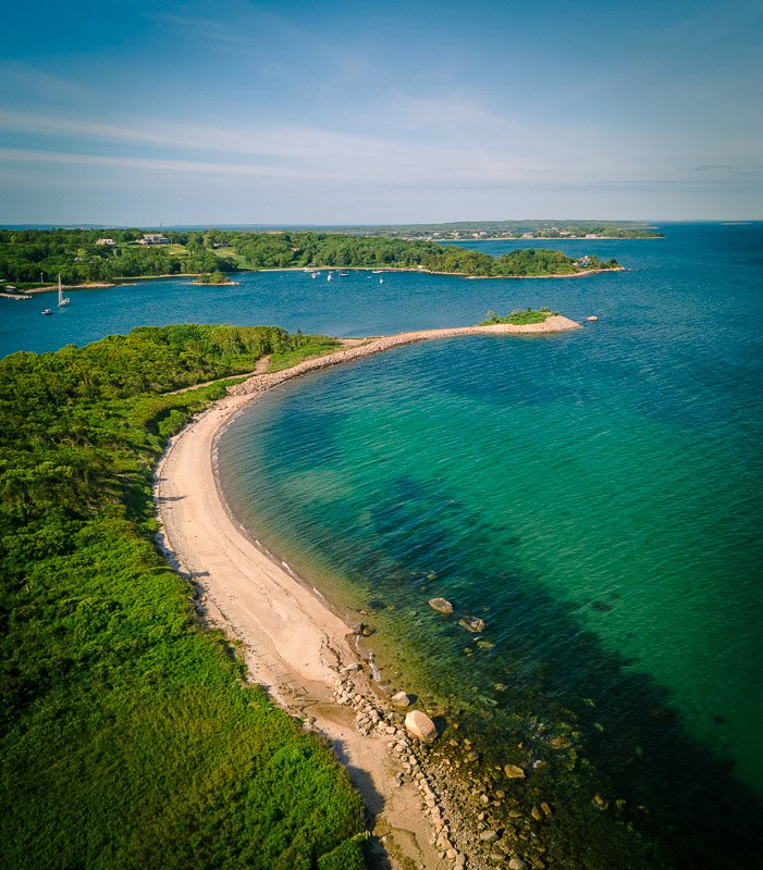 The Knob is one of the prettiest places to visit in Upper Cape Cod.