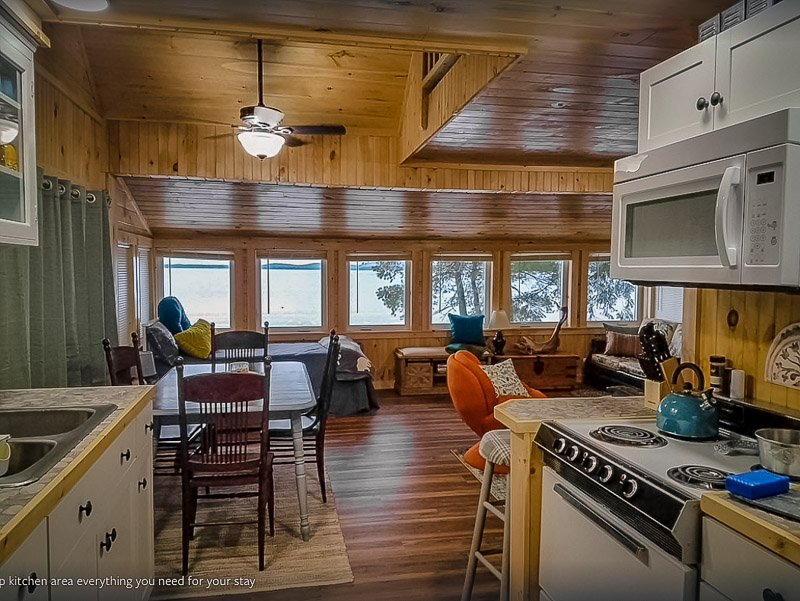 One of the top Maine lake cabins for rent for budget travelers