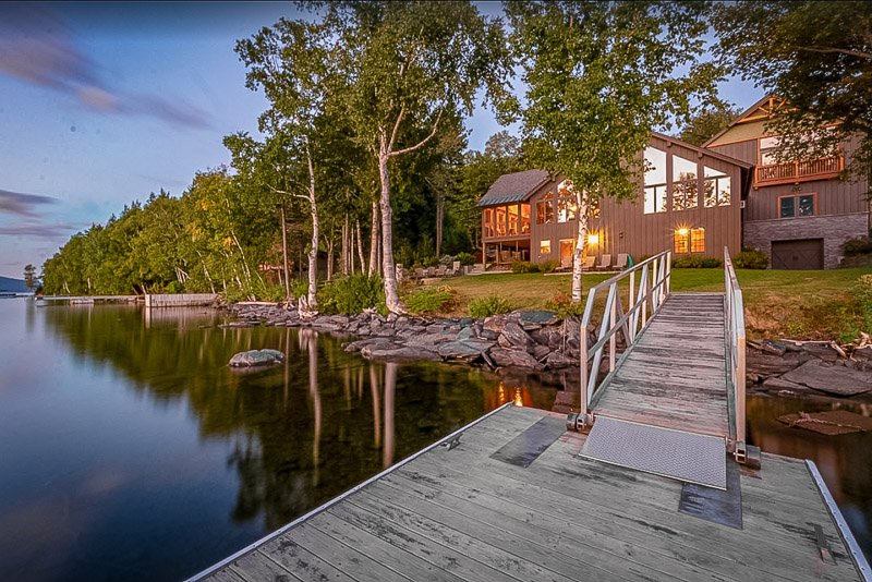 A lakefront vacation rental in Maine like no other.