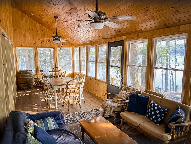 One of the coolest NY lake cabin rentals, hands down