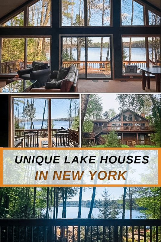 Most unique lake house rentals in New York for all types of travelers