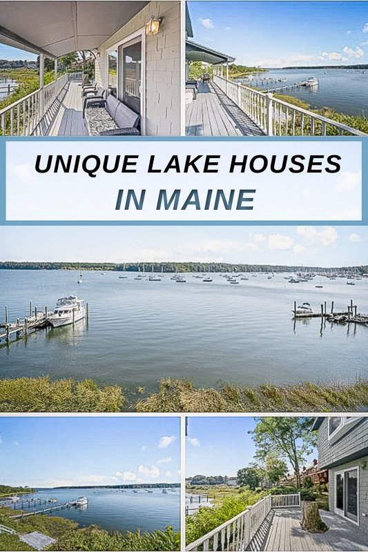 The best lake house rentals in Maine for summer, fall, and winter getaways