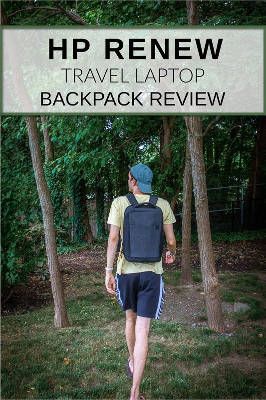 HP Renew Travel Laptop Backpack Review for all types of travelers