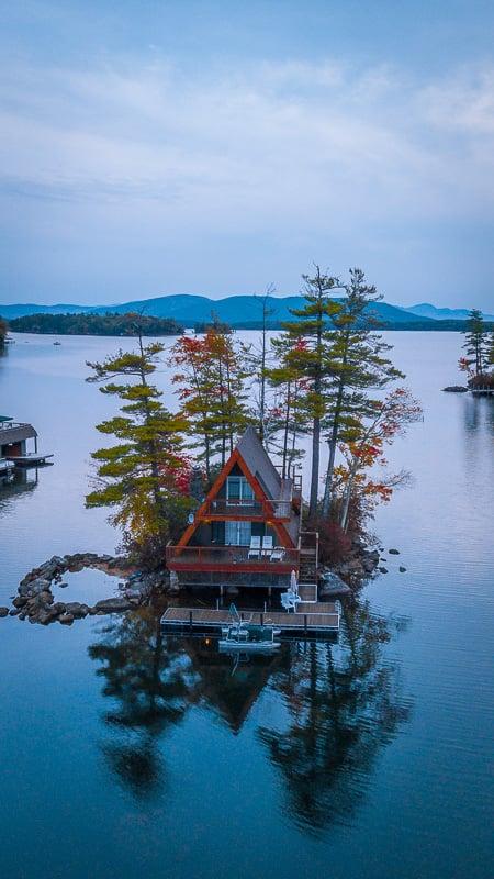 Lake Winnipesaukee has some epic vacation rentals!