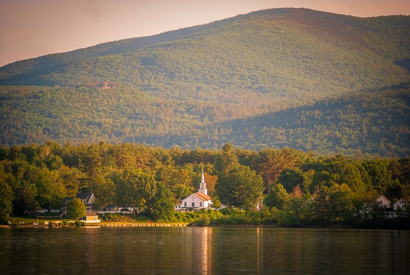 The Lakes Region is a top New England road trip idea for those seeking a respite from busy modern life