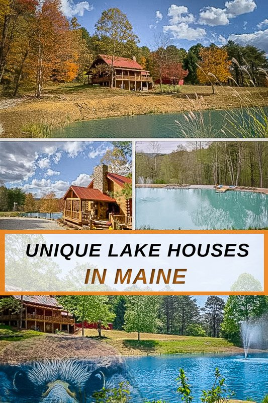 Most unique lake house rentals in Maine for all types of travelers