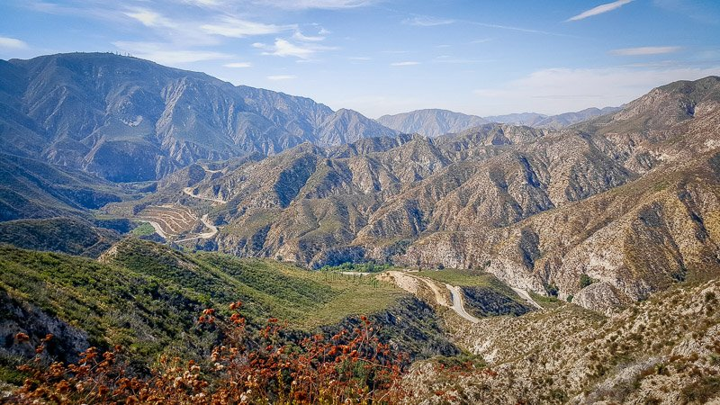 Angeles National Forest near Los Angeles in Southern California is a beautiful place to visit for nature lovers.