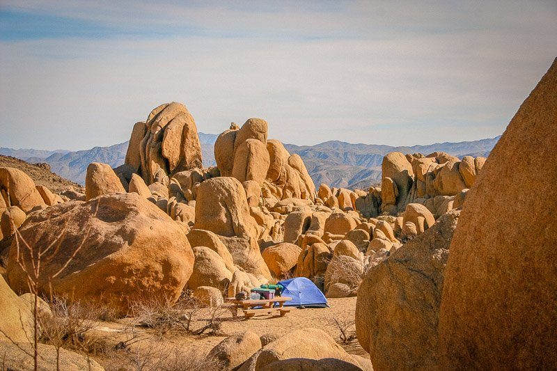 Add desert camping to your Southern California bucket list