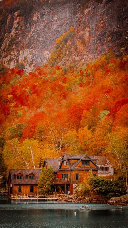This part of the Northeast Kingdom of Vermont is one of the best fall New England trips, without a doubt.