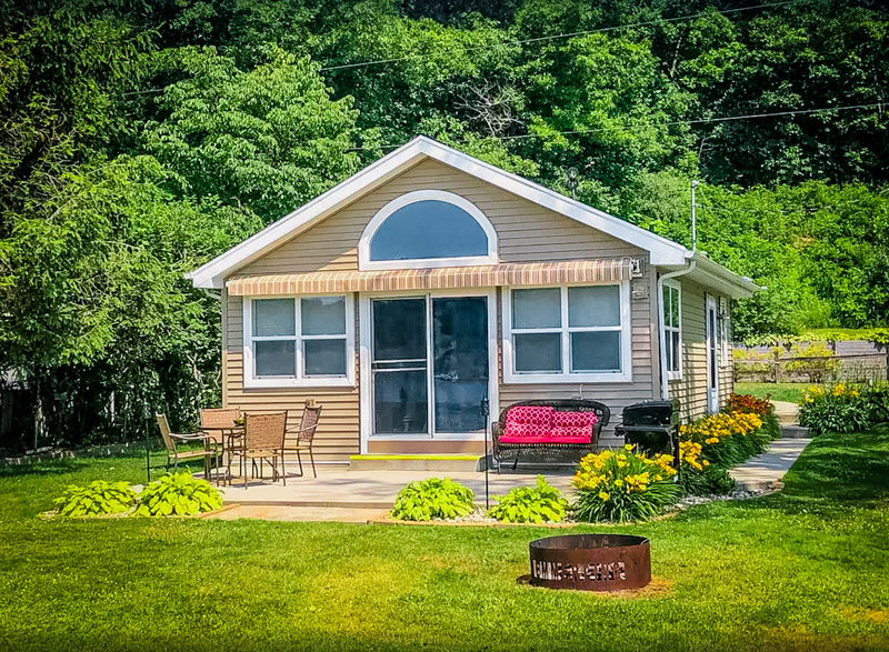 This quaint little lakeside Michigan rental is affordable and cozy