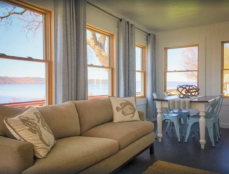 lake views from the wisconsin lake house